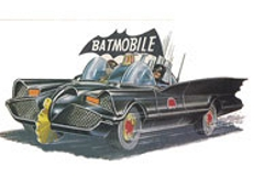 Corgi Batmobile